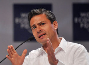 Enrique Pena Nieto, the president of Mexico