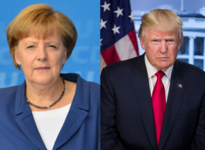 Ms. Merkel and Mr. Trump