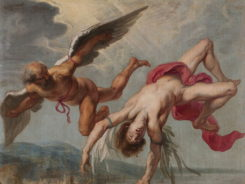 Icarus and Daedalus. by Jacob Peter Gowy.