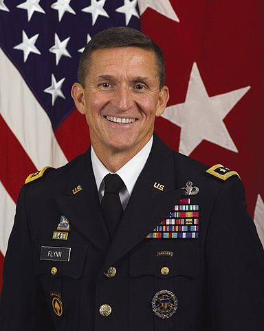 Official DIA portrait of Lt. Gen. Michael T. Flynn
