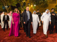 Trump, Melania, and Salman (White House/Shealah Craighead)
